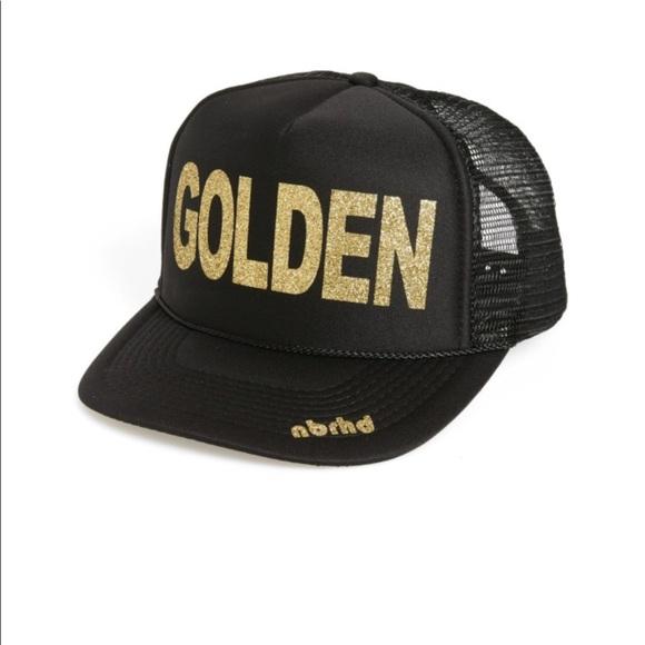 "45322298f667c Trucker hat ""GOLDEN"". M 5af7b793739d488443230e93"